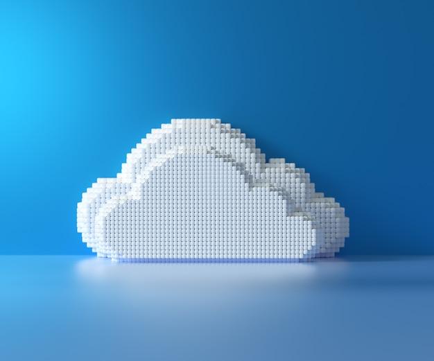 Cloud-computing-hosting-konzept