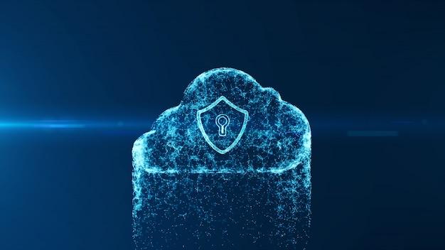 Cloud computing und cybersicherheit.