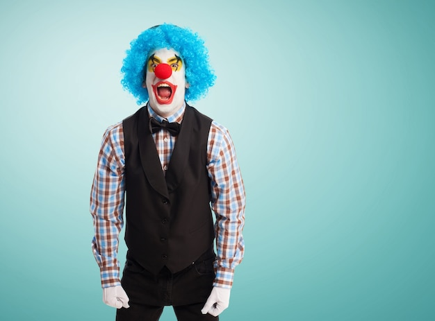 Clown kreischen
