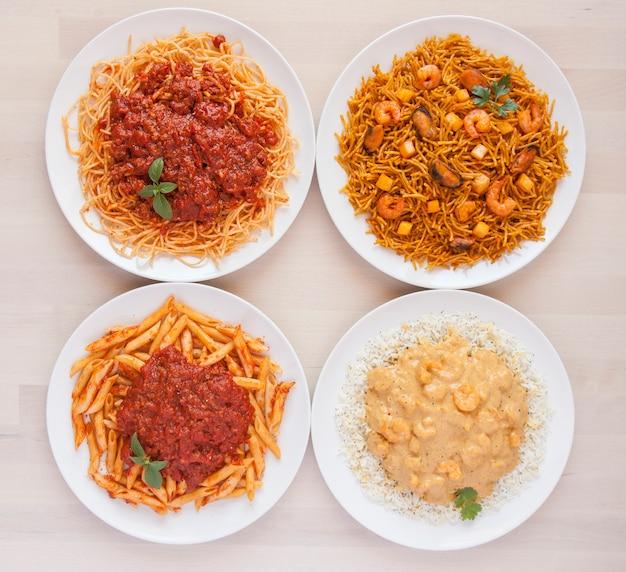 Cocina lebensstil comida pasta gastronomie