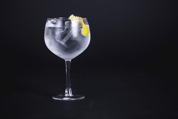 Cocktail mit lemmon