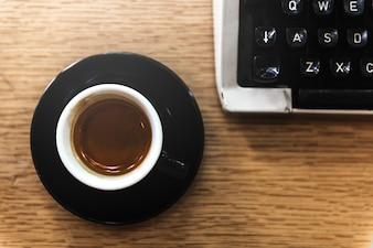 Coffe Cup-Energie-Erfrischungs-Konzept