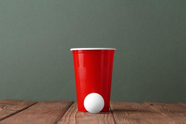 College party sport bier pong