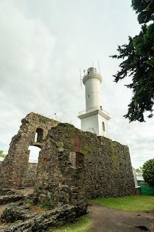 Colonia del sacramento leuchtturm uruguay am 12. dezember 2018
