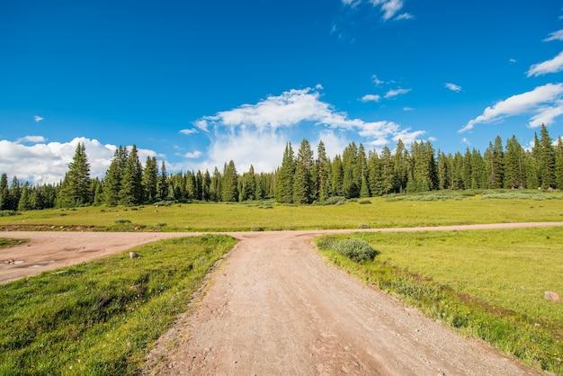 Colorado backcountry road
