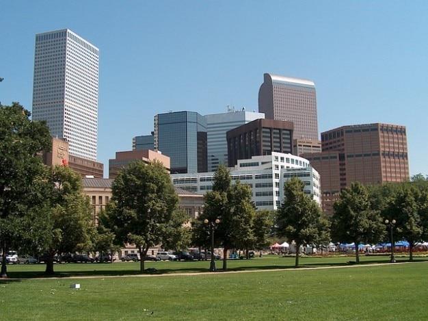 Colorado stadtbild denver landschaft stadt