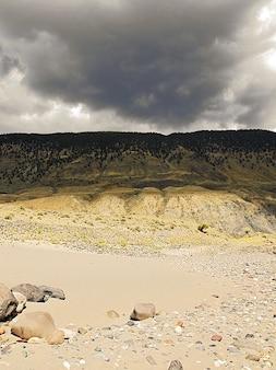 Columbia landschaft fraser plateau british canada
