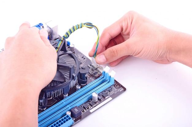Computer aufbauen