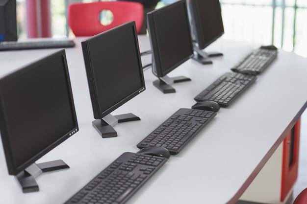 Computer im klassenzimmer