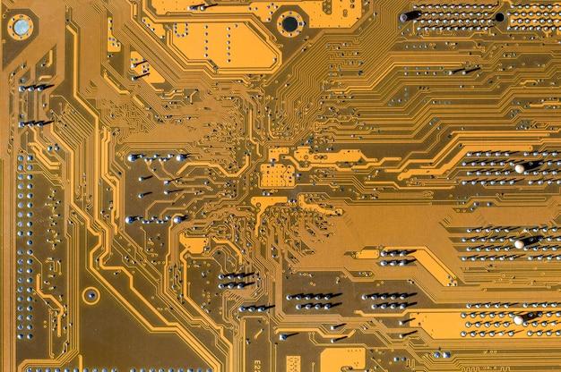 Computer motherboard textur