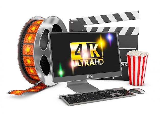 Computer- und filmstreifen