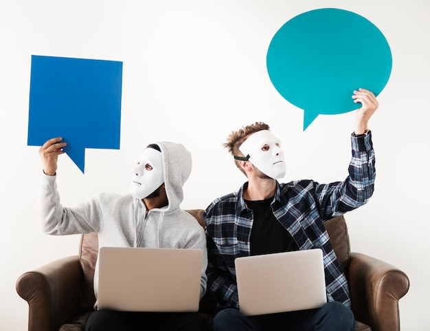 Computerhacker und internetkriminalität