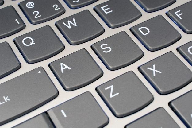 Computertastaturnahaufnahme