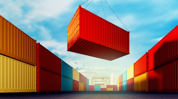 Container laden