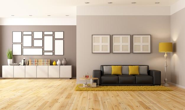 Contemporari wohnzimmer