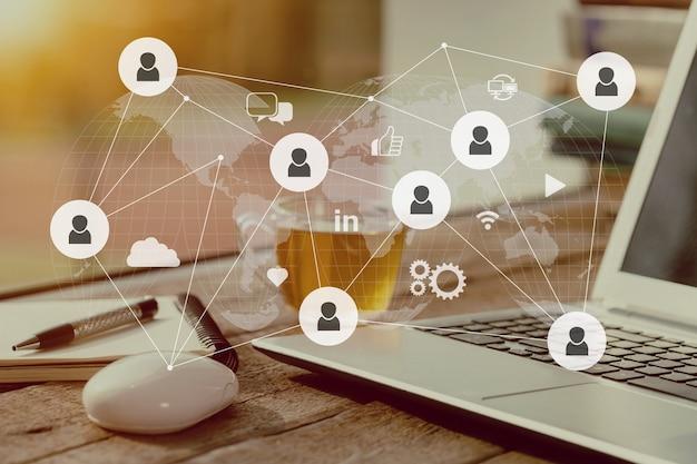 Content-marketing content-daten blogging medienpublikation