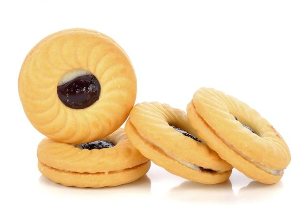 Cookie, isoliert auf weiss
