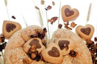 Cookie knabbern