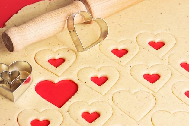 Cookies zum valentinstag