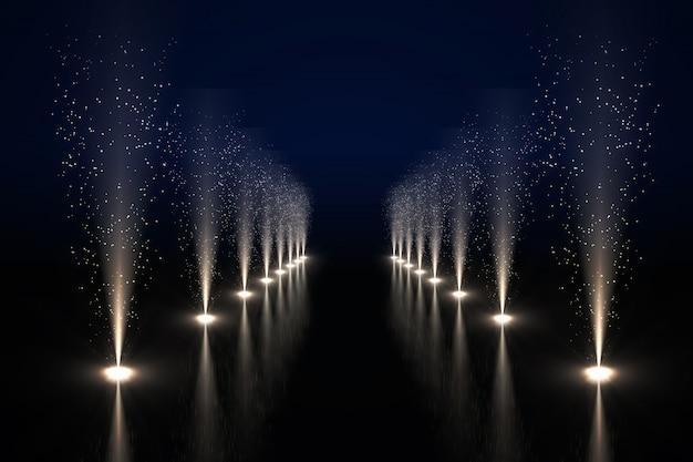 Coole nachtleben lichter