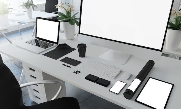 Coporate essentials im büro