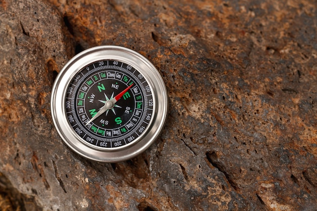 Copy-space-traverer-kompass