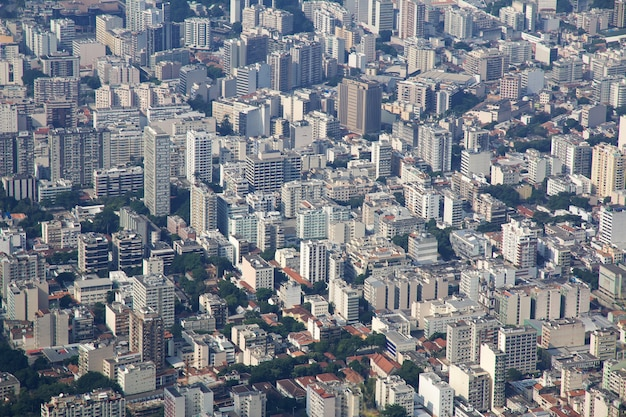 Corcovado hügel auf rio de janeiro, brasilien
