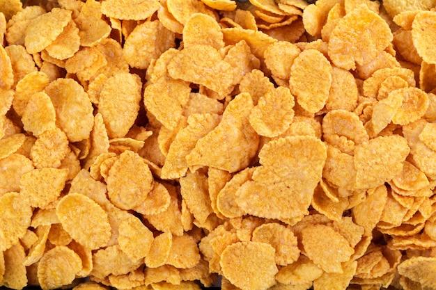 Corn flakes-zusammenstellungshintergrund