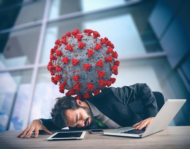 Coronavirus hat den jahresabschluss des unternehmens belastet