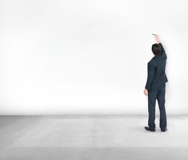 Corporate business arbeiter schießen