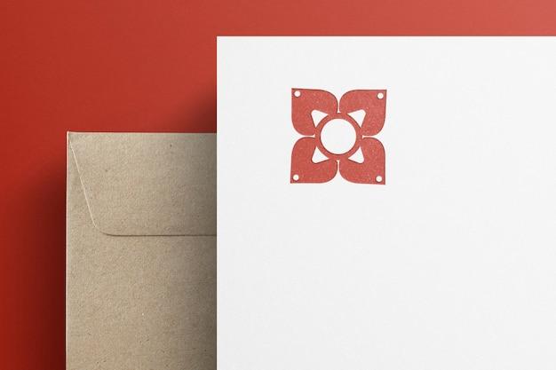 Corporate identity briefpapierset für unternehmen