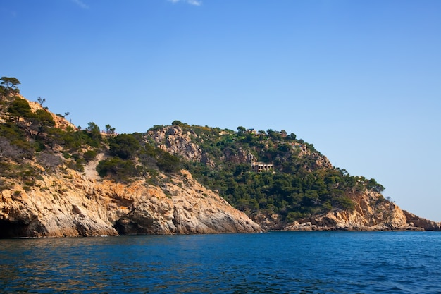 Costa brava landschaft