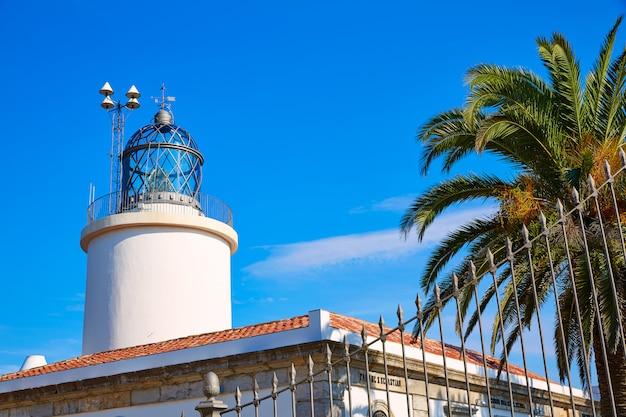 Costa brava san sebastian leuchtturm weit girona
