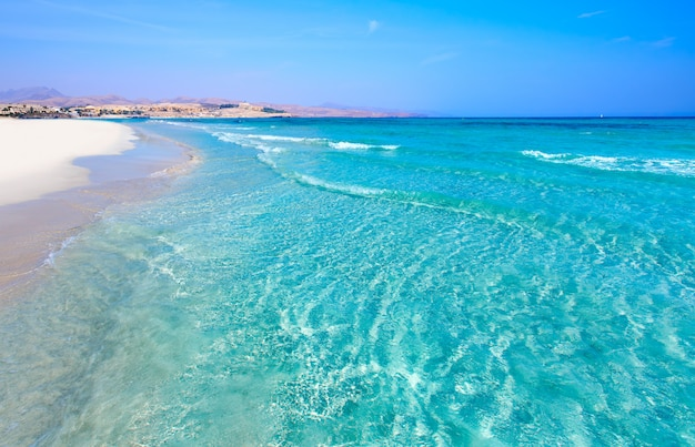 Costa calma strand von jandia fuerteventura