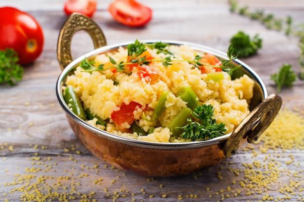 Couscouos tabouleh salat