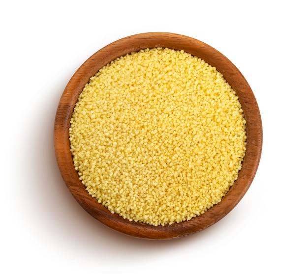 Couscous getrennt mit ausschnittspfad