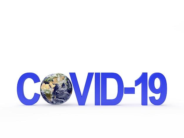 Covid-19 und planet erde.