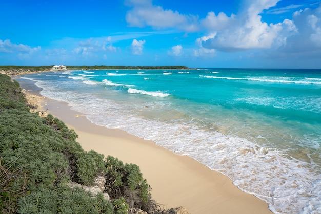 Cozumel insel el mirador strand in mexiko