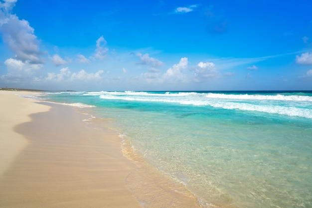 Cozumel insel san martin strand in mexiko