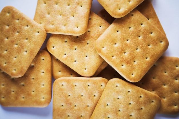 Cracker cookies hautnah