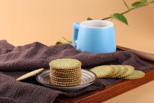 Cracker und milch