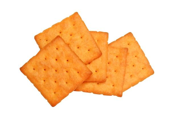 Crackersnack lokalisiert im weiß