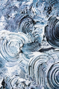 Creme strukturierte malerei auf nahtlosem hintergrund, abstrakte grafik.