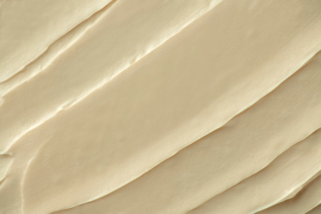 Creme zuckerguss textur hintergrund nahaufnahme