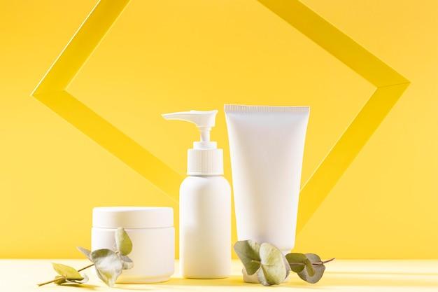 Cremebehälter für kosmetikzusammensetzungen