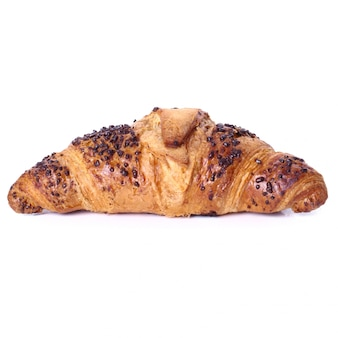 Croissant auf dem tisch