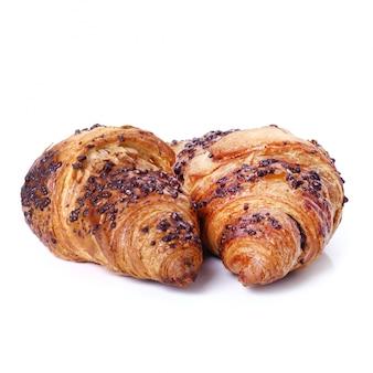 Croissants auf dem tisch