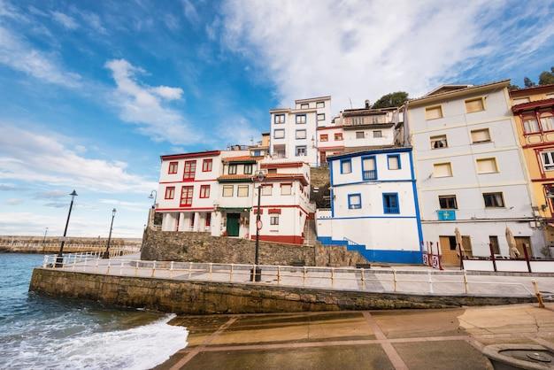 Cudillero-dorf, asturien, spanien