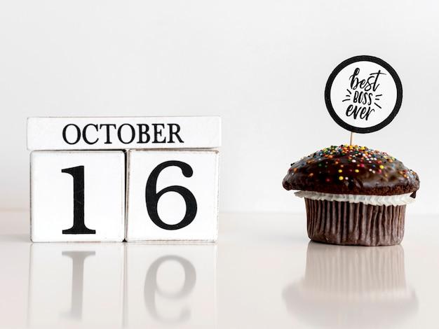 Cupcake für boss tag