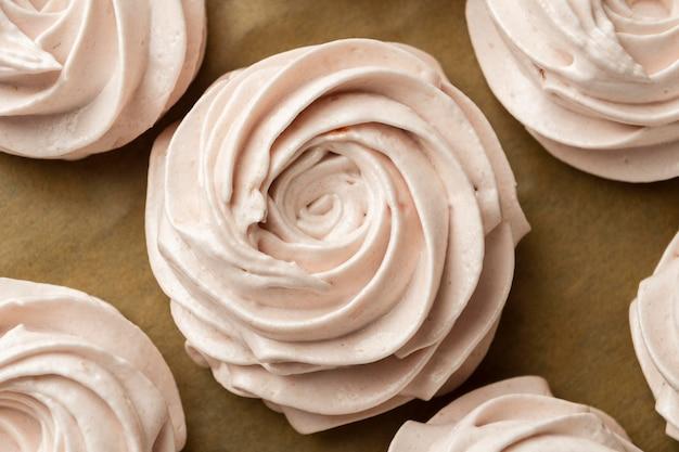 Cupcakes anordnung draufsicht